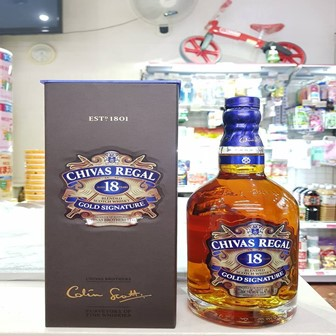 RƯỢU CHIVAS REGAL 18 YO 750ML