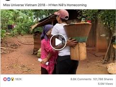"""Cộng đồng mạng quốc tế """"đòi yêu"""" H'Hen Niê với hình ảnh căn nhà và cách ứng xử của cô"""