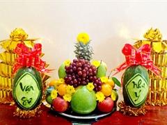 Những loại quả mang tài lộc nên bày bàn thờ thăm hương