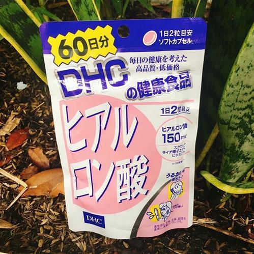 Viên uống Hyaluronic Acid DHC cấp nước