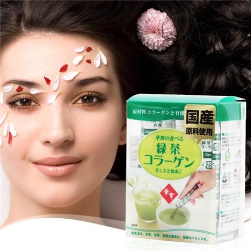 Collagen Hanamai tinh chất trà xanh Nhật Bản