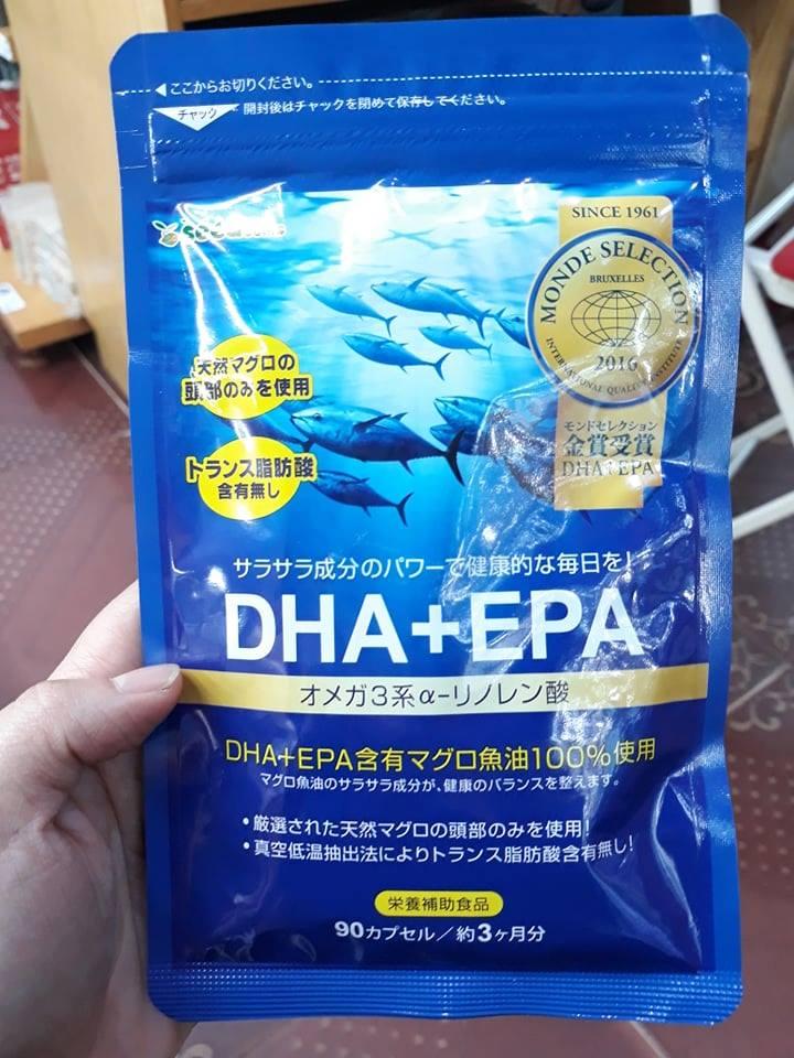 Viên bổ sung DHA&EPA gói 90 viên