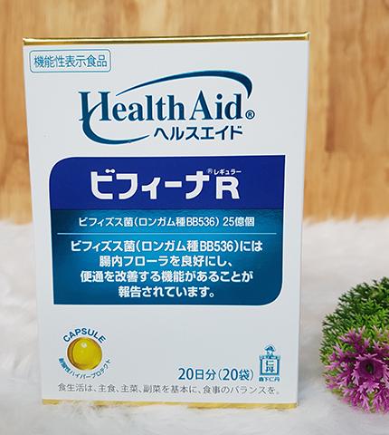 Men vi sinh Health Aid Bifina R 20 gói