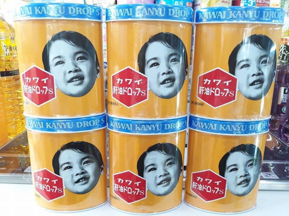 Kẹo vitamin Kawai kanyu cho bé biếng ăn của Nhật - 300 viên
