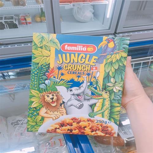 Ngũ cốc Familia Jungle Crunch 250g