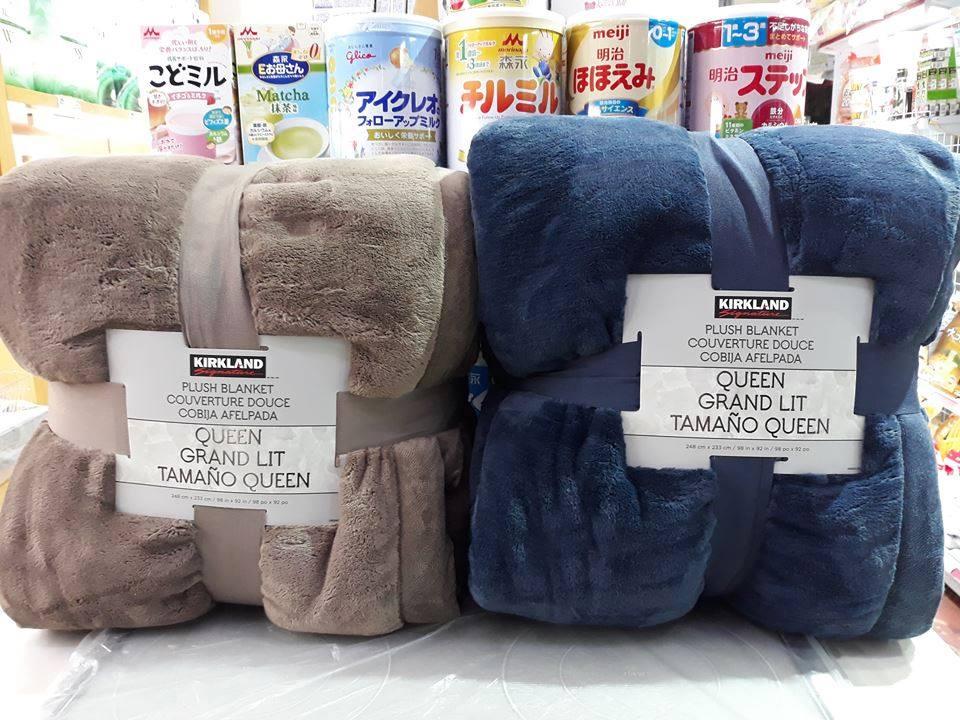 Chăn lông cừu Kirkland 248cm x 233cm ( Thương hiệu Mỹ)