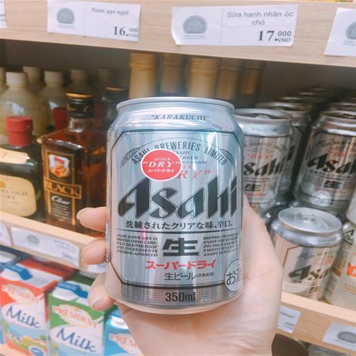 Bia Asahi Nhật