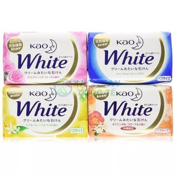 XÀ PHÒNG BÁNH TẠO BỌT KAO WHITE 130G